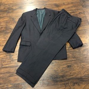 Nordstrom Athletic Cut Suit 100% Pure Wool